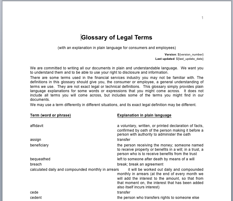 glossary of legal terms