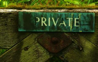 Private Sale of a house, Privacy law fast tracked