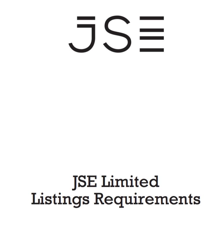jse listing requirements