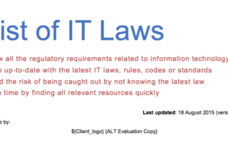 IT Laws or ict laws