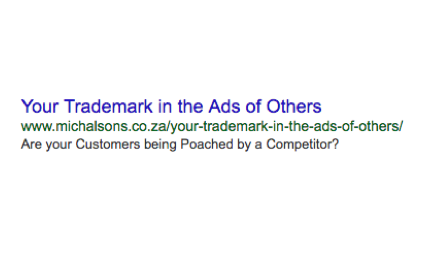 trademarks in ads