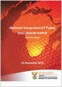 National Integrated ICT Policy Discussion Paper