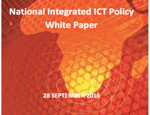 National Integrated ICT Policy White Paper