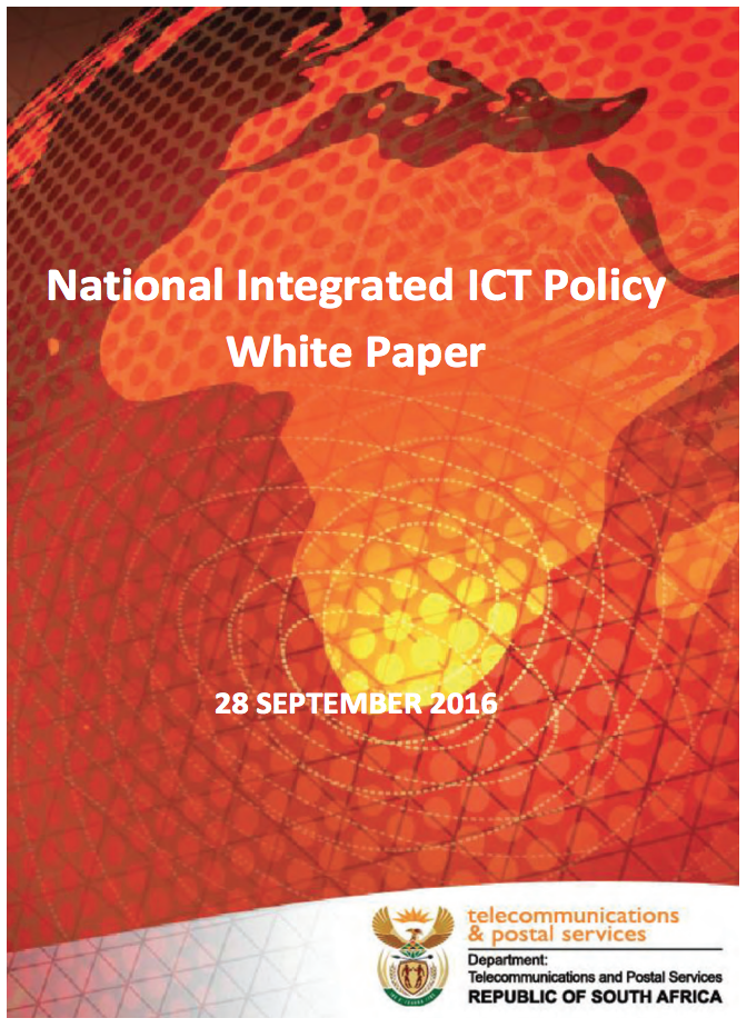 National Integrated ICT Policy