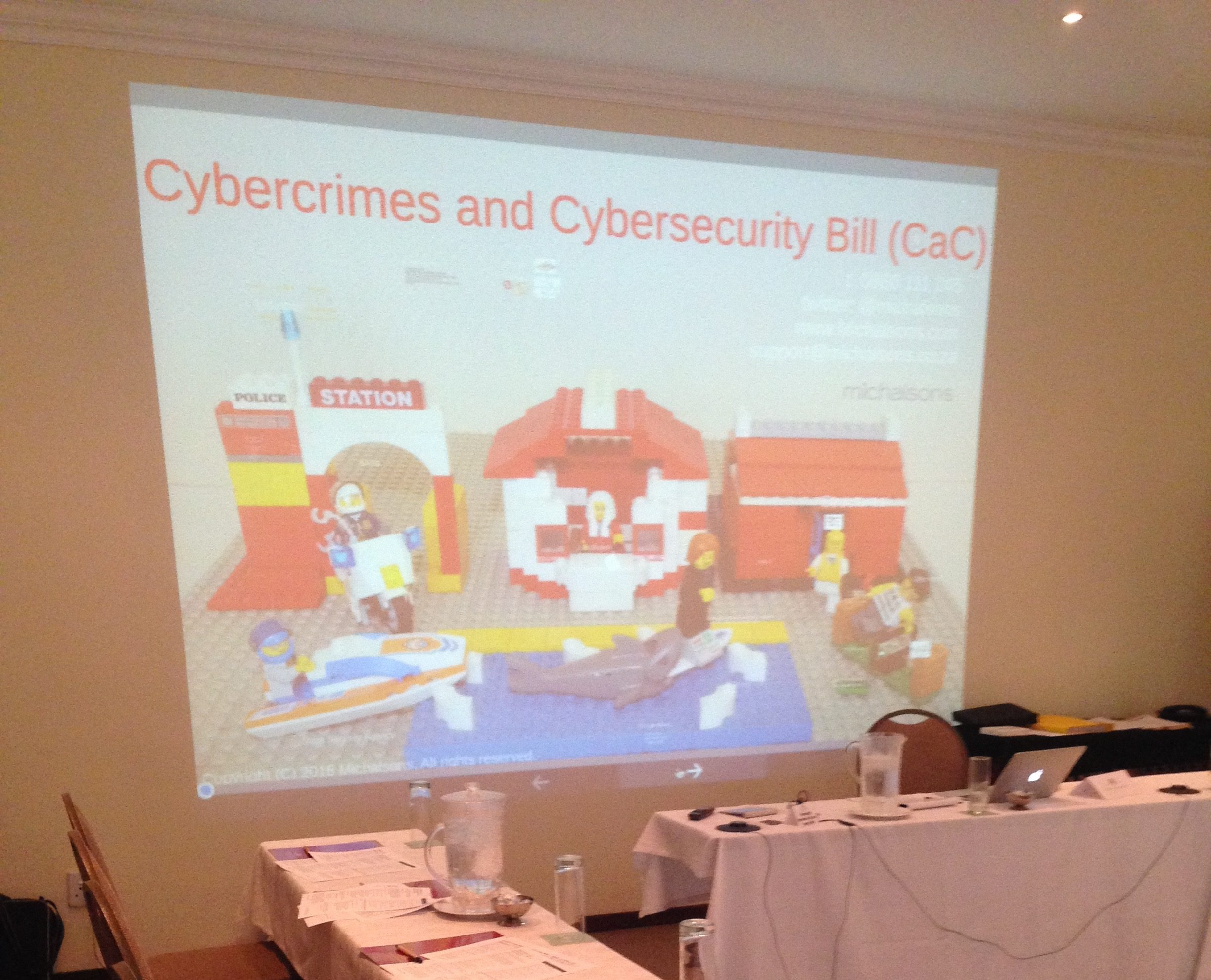 Cybercrime Law workshop