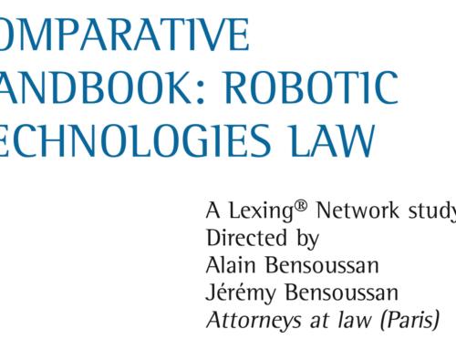 Robot Law Book – a Comparative Handbook