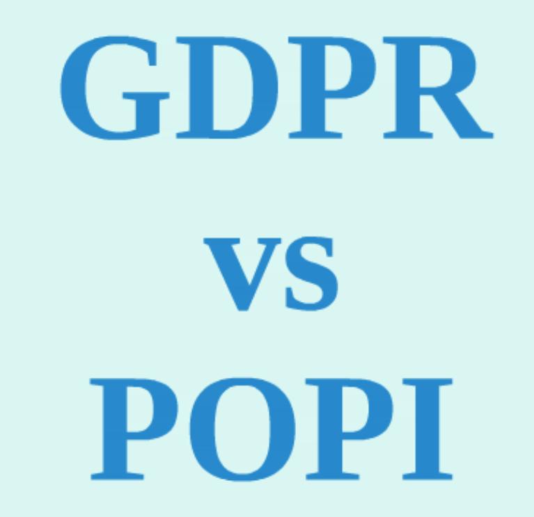 GDPR POPI