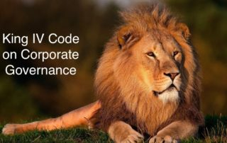 King IV Report and King IV Code, includsing how it deals with IT governance