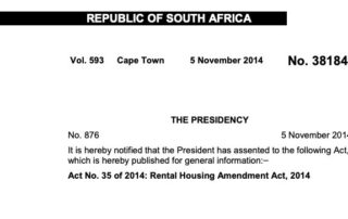 rental housing amendment act