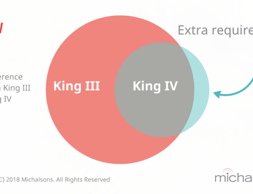 Differences between King III and King IV