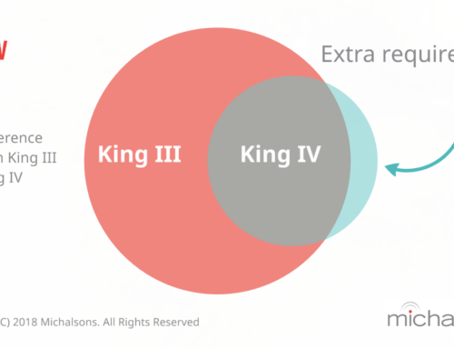 Difference between King Code III and IV
