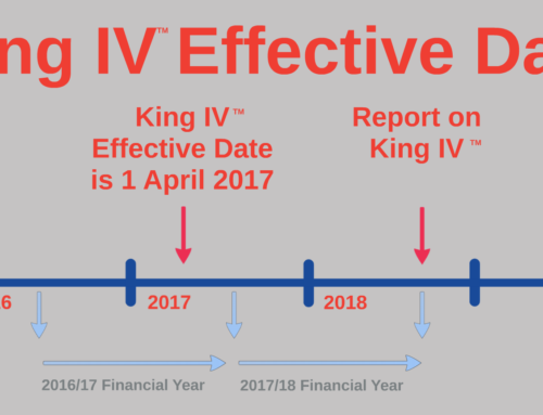 King IV Effective Date is 1 April 2017