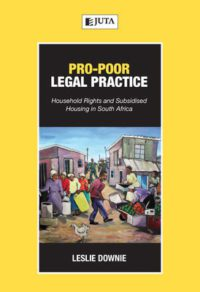 Pro-poor Legal Practice