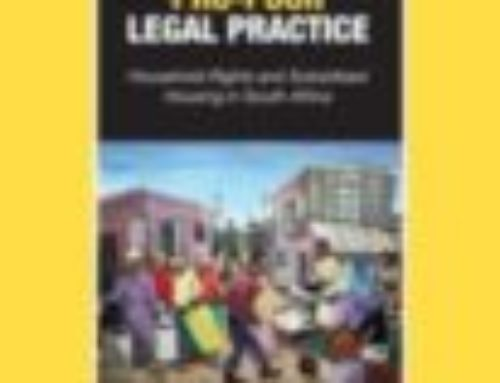 A Pro-Poor Legal Practice Book for all Lawyers