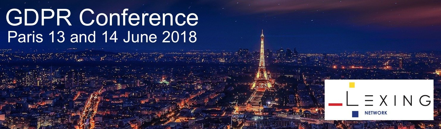 GDPR conference 2017 and 2018