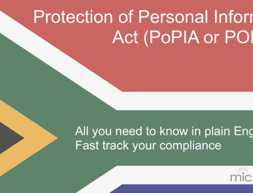 POPI Act Summary in Plain Language