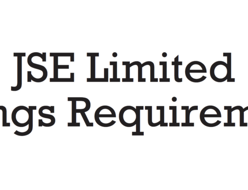 The JSE Listing Requirements and King III and IV