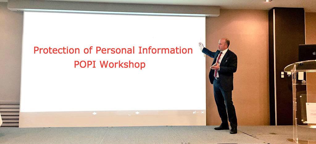 Protection of Personal Information POPI workshop