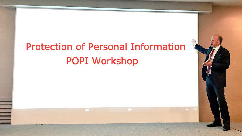 Protection of Personal Information POPI workshop