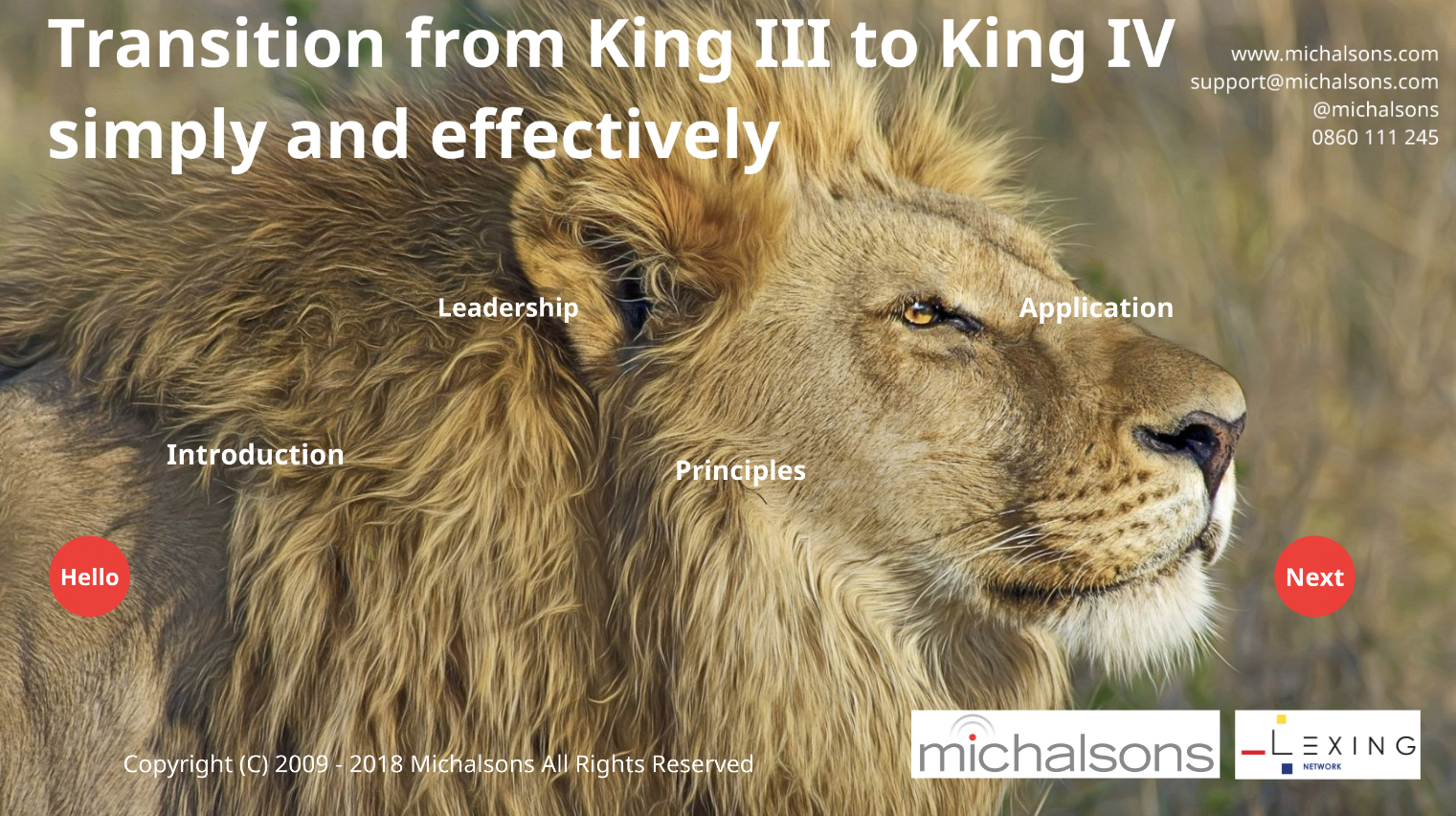 King Code webinar