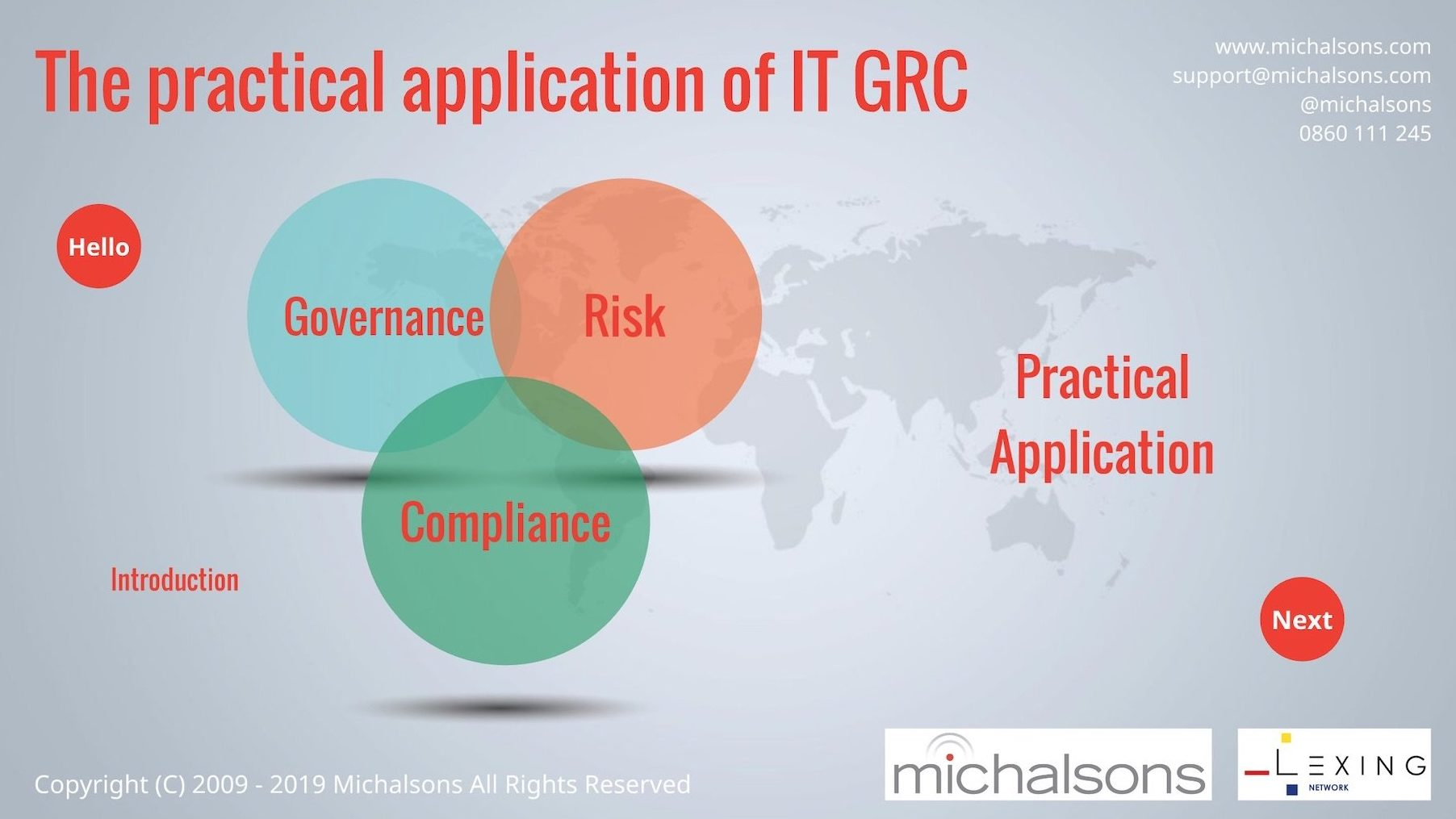 Practical IT GRC Workshop