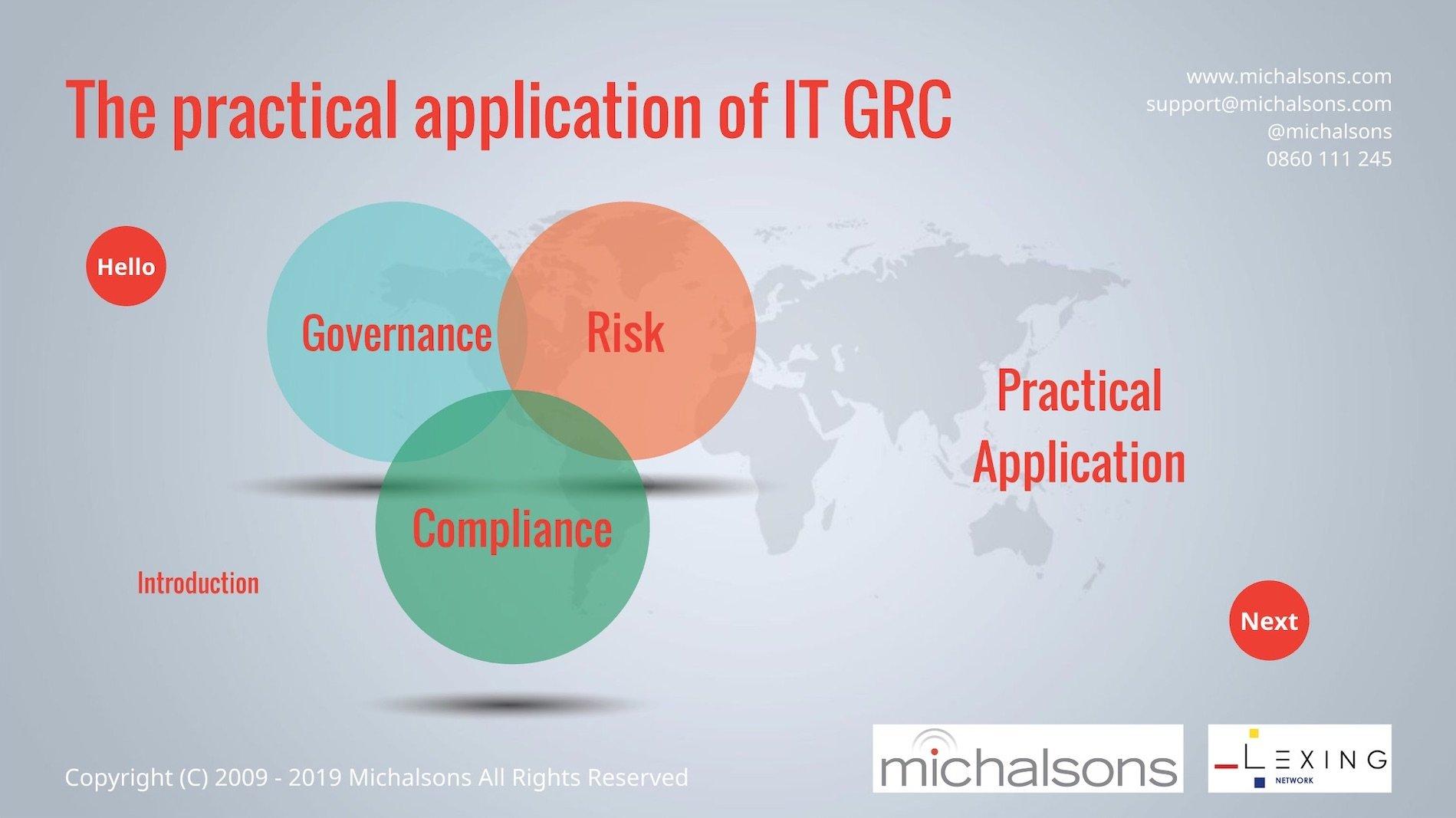 Practical IT GRC Workshop